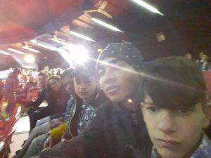 Altro selfie di gruppo