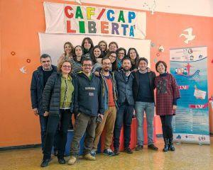 Caf Cap, foto di gruppo