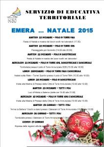 EMERA, programma di Natale