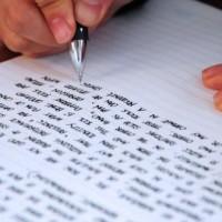mano che scrive